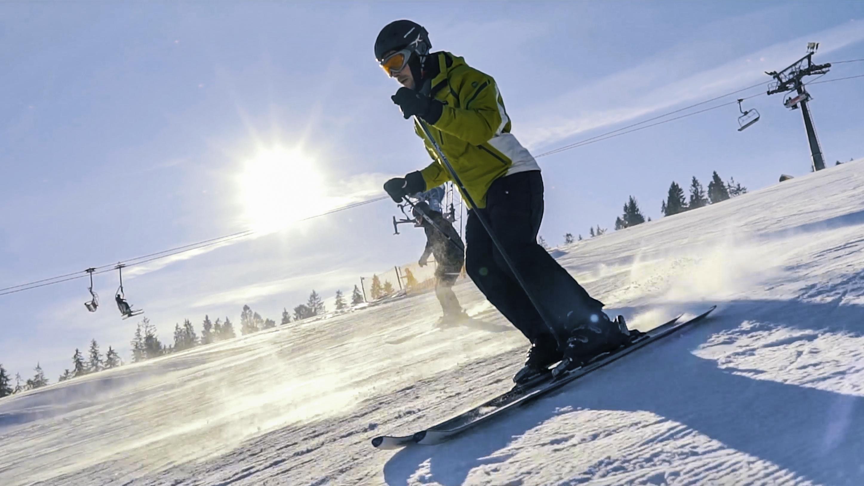 Campery Złotniccy - Camperem na narty